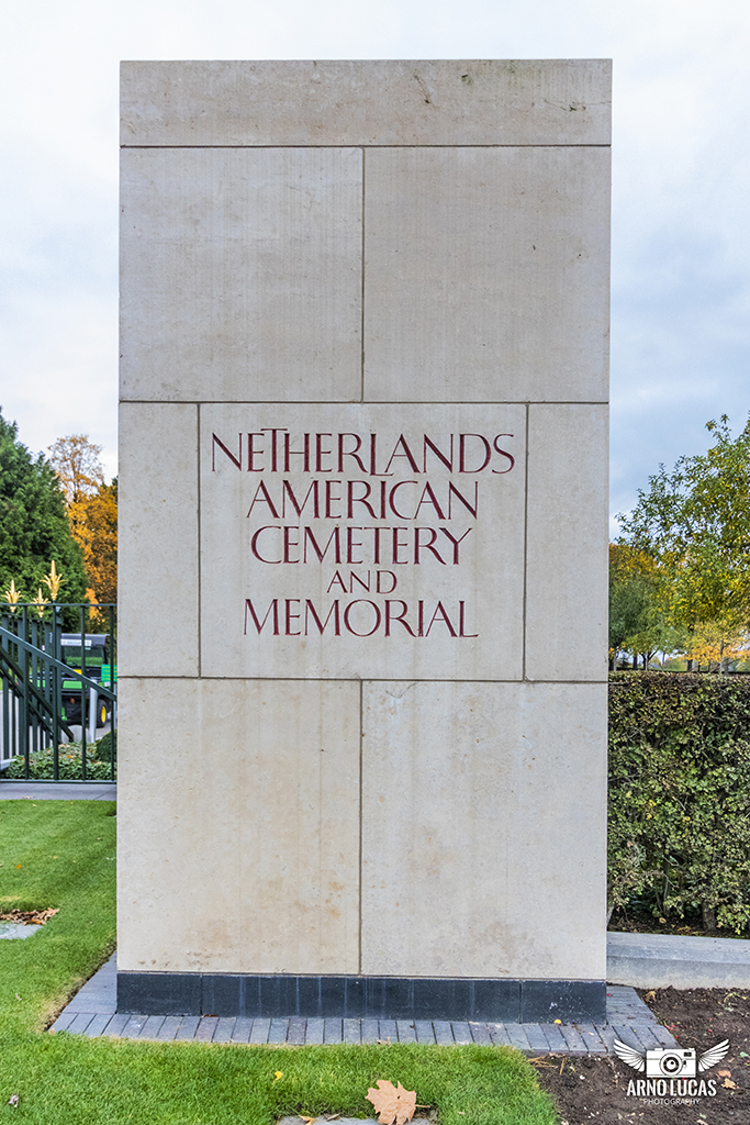 Entree Netherlands American cemetery and Memorial, © Arno Lucas