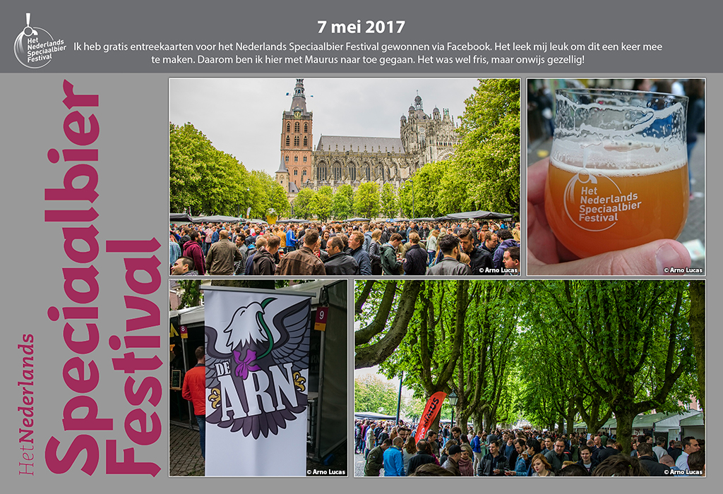 Collage 'Speciaalbieren Festival' 2017, © Arno Lucas