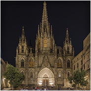 Barcelona Cathedral in Barri Gòtic, © Arno Lucas
